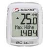 SIGMA SPORT BC 14.12 ALTI Licznik rowerowy biały